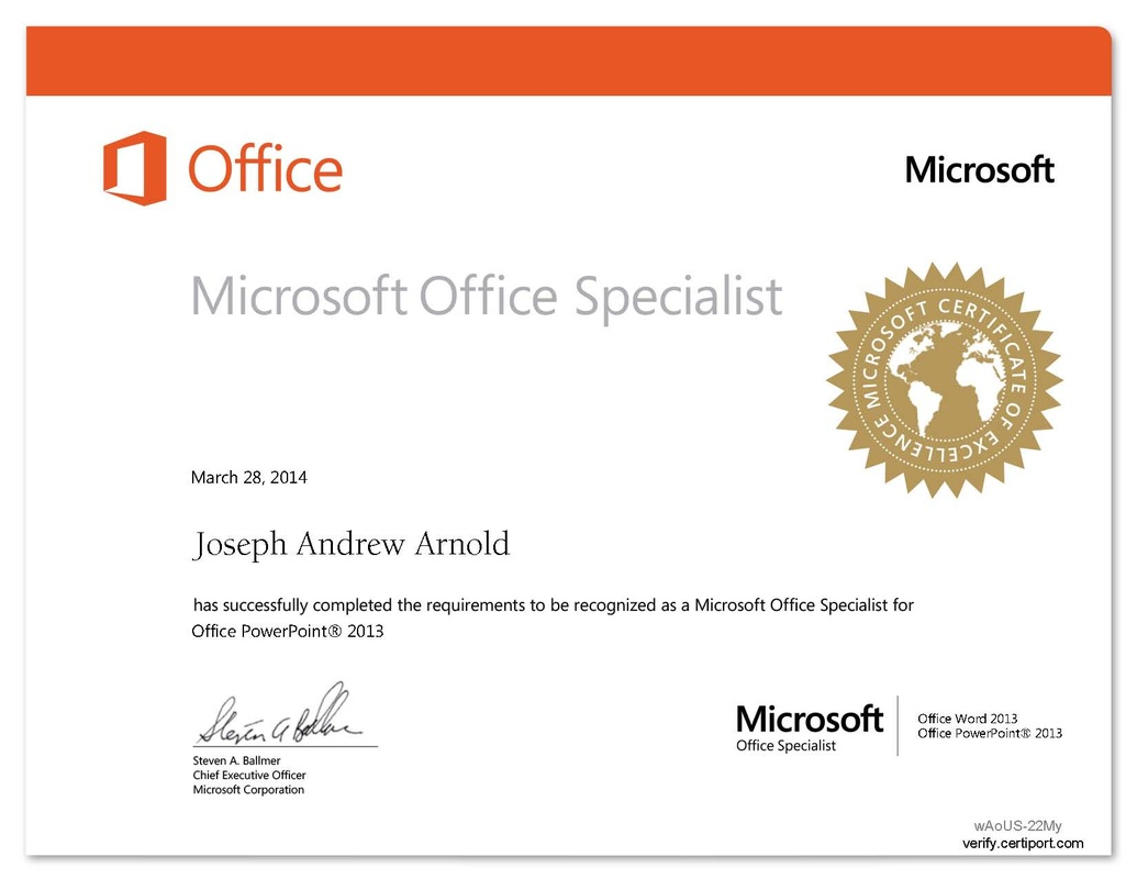 Microsoft office mrs arnold bchs microsoft certification 2013 2014 xflitez Choice Image